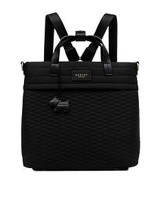 radley-penton-mews-medium-zip-top-backpack-black