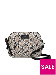 radley-dukes-place-faux-python-medium-zip-top-cross-body-bag-grey