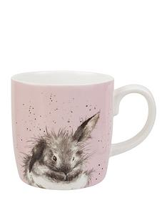 royal-worcester-wrendale-bathtime-rabbit-mug