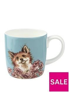 royal-worcester-wrendale-poppy-field-fox-mug