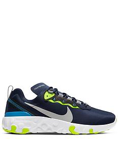 nike-renew-element-55-junior-trainer-navy-yellow