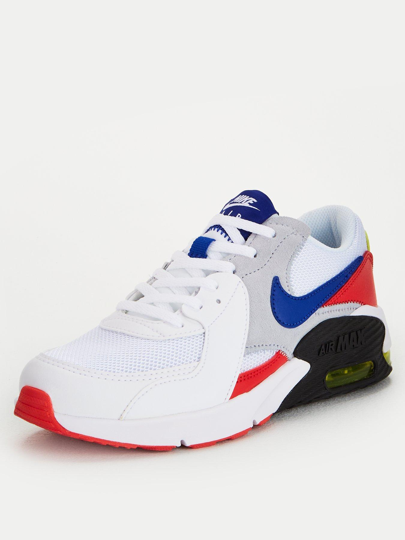 red nike trainers junior