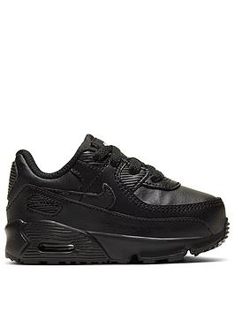 nike-air-max-90-infant-trainers-black