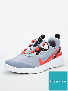 nike-element-55-infant-trainers-greyred