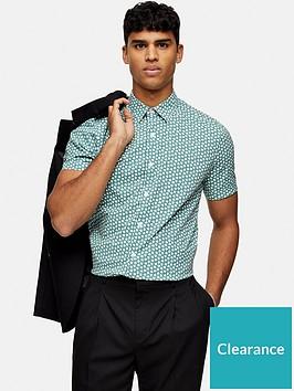 topman-motif-print-short-sleeve-shirt-green