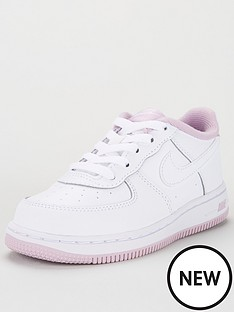 nike-air-force-1-infant-trainers-whitelilac
