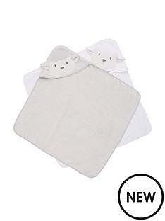 v-by-very-baby-unisex-2-pack-lamb-premium-towels-cream