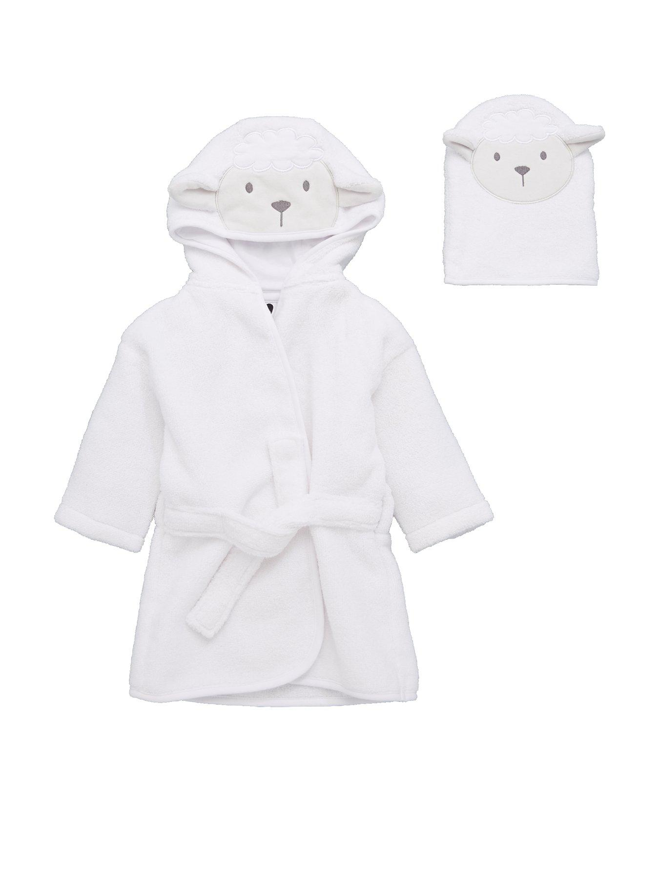 Joey Couture Baby Boys Robed Satin Design Christening Outfit