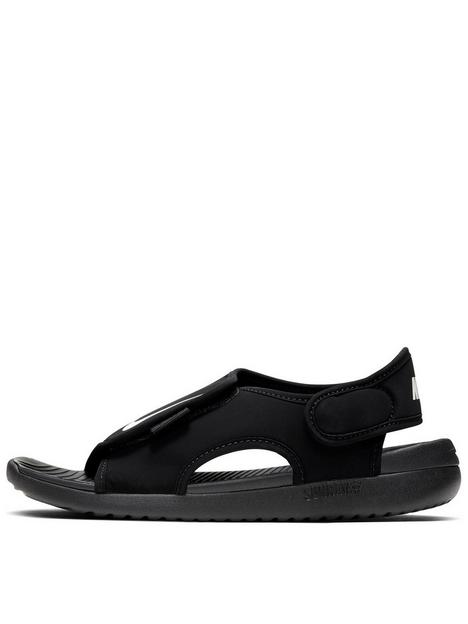 nike-sunray-adjust-5-childrens-sandal-black-white