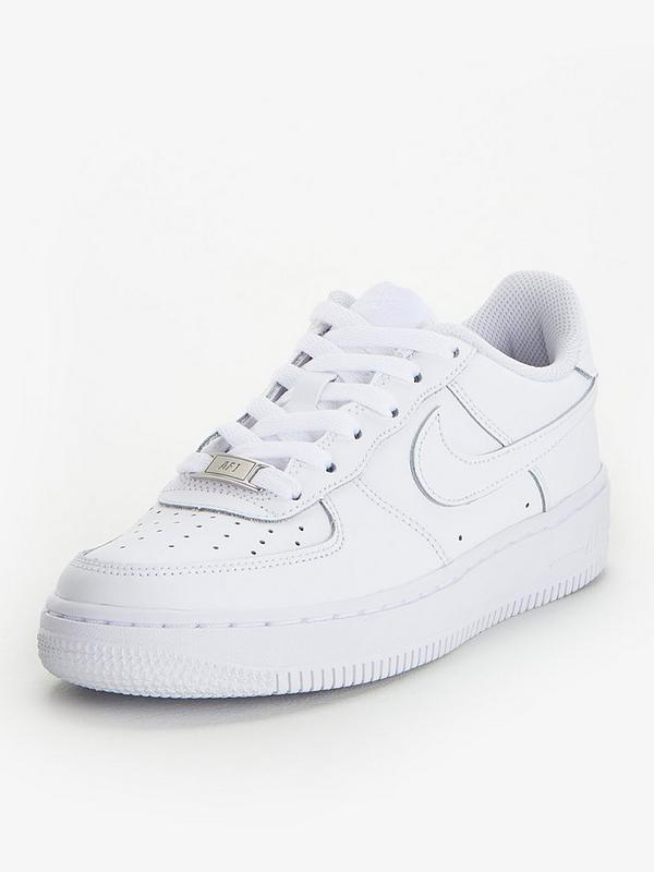 Air Force 1 (GS) Junior Shoe White