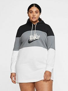 nike-nsw-varsity-hooded-dress-curve-blackwhitenbsp