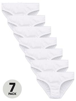 v-by-very-girls-7-pack-plain-school-briefs-white