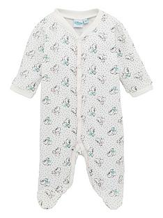 minnie-mouse-baby-sleepsuit-off-white