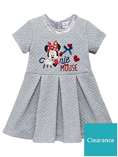 minnie-mouse-short-sleeve-dress-light-grey