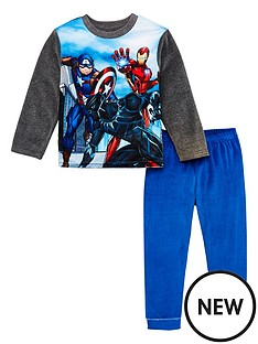 the-avengers-pyjamas-grey