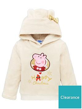 peppa-pig-ears-christmas-hoodie-beige