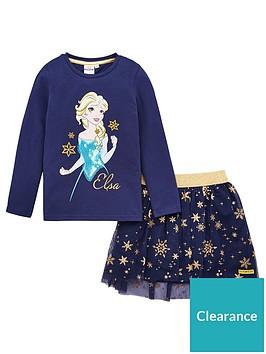 disney-frozen-t-shirt-amp-skirt-set-navy