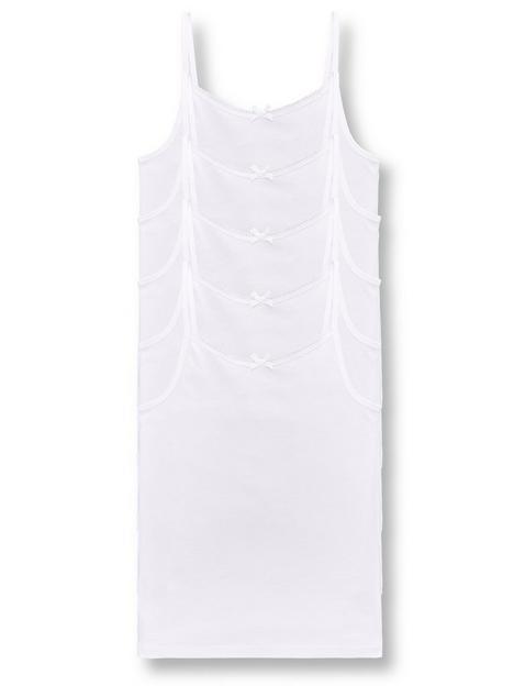 v-by-very-girls-5-packnbspstrappy-school-vests-white