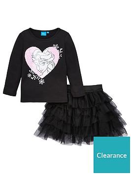 disney-frozen-t-shirt-amp-skirt-set-black
