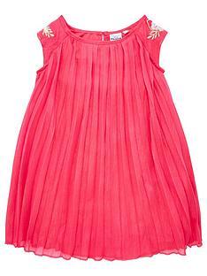 disney-frozen-pleated-dress-dark-pink