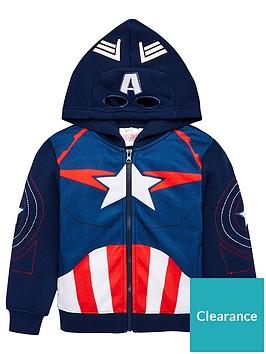 the-avengers-zip-through-hoodie-navy