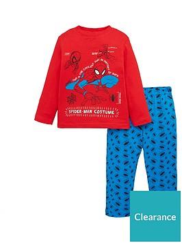 spiderman-boys-pyjamas-red