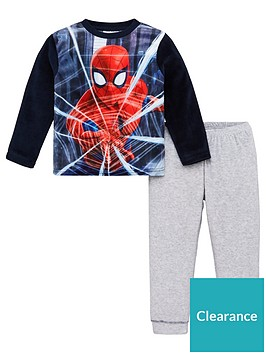 spiderman-web-pyjamas-navy