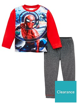 spiderman-pyjamas-red