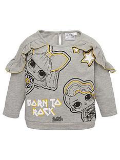 lol-surprise-frill-sweatshirt-grey