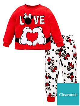 minnie-mouse-love-pyjamas-red