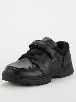 v-by-very-toezone-at-v-by-verynbspboys-leather-elastic-lace-with-strap-school-shoe-black
