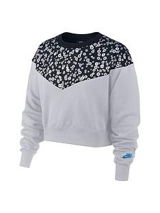 nike-nsw-floral-heritage-sweat-top-blacknbsp