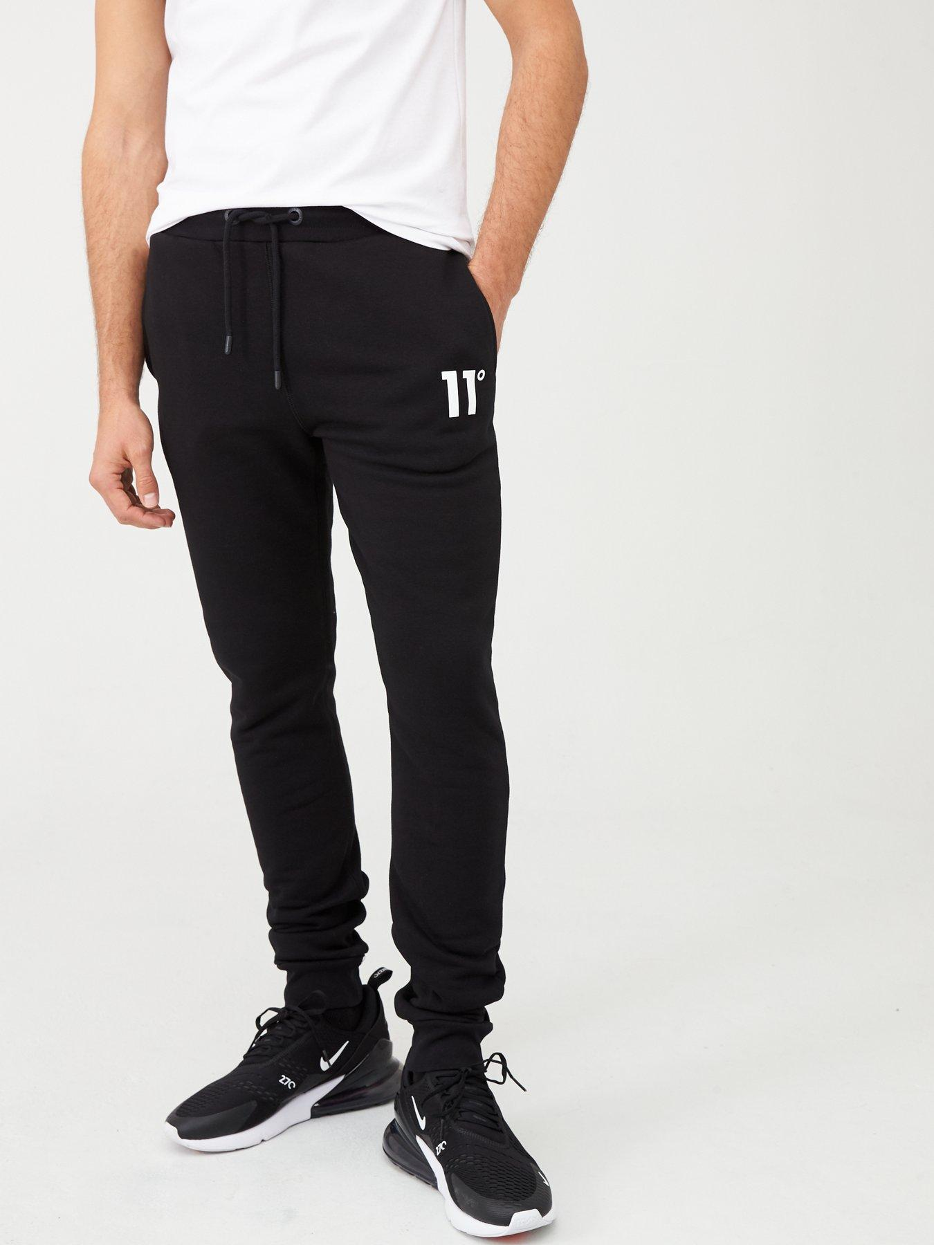 New Mens Rose London King Tracksuit Bottoms Joggers Pants Jogging Gym Casual