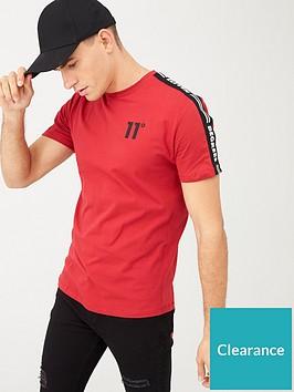 11-degrees-asymmetric-t-shirt-red