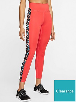nike-the-one-heritage-daisy-leggings-rednbsp