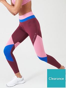 nike-the-one-colour-block-legging-flamingonbsp