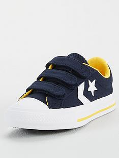 converse-star-player-3v-ox-canvas-childrens-trainers-blue