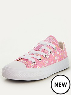 converse-chuck-taylor-all-star-ox-floral-childrens-trainers-pinkwhite