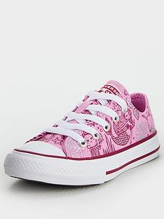 converse-chuck-taylor-all-star-ox-mermaid-childrens-trainers-pink