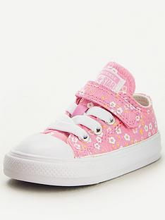 converse-chuck-taylor-all-star-ox-1v-floral-infant-trainers-pinkwhite