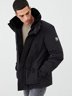 river-island-black-svnth-borg-collar-parka-coat