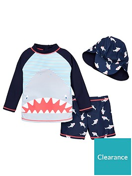 v-by-very-boys-shark-swim-set-with-hat-multi