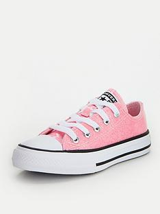 converse-chuck-taylor-all-star-ox-coated-glitter-childrens-trainers-pink