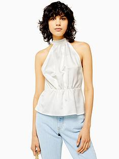 topshop-satin-bow-back-halter-top-ivory