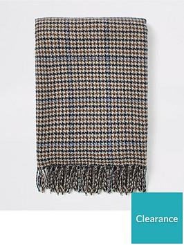 river-island-brown-check-scarf