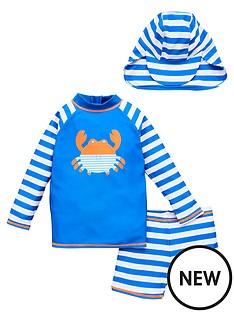 v-by-very-boys-striped-crab-sunsafe-with-hatnbsp-blue
