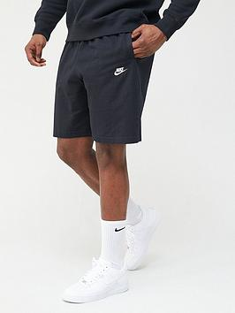 nike-club-jersey-shorts-blackwhite