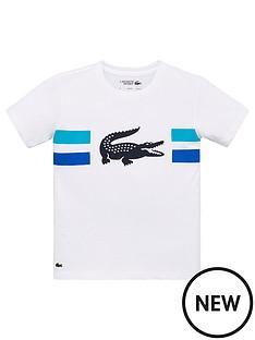 lacoste-sports-boys-tech-short-sleeve-croc-t-shirt-white
