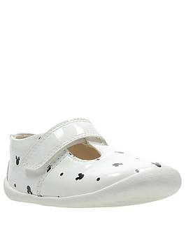 clarks-clarks-x-minnie-mouse-roamer-polka-first-shoe-white