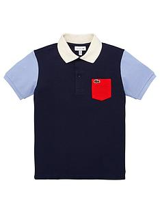 lacoste-boys-short-sleeve-colourblock-polo-shirt-navy